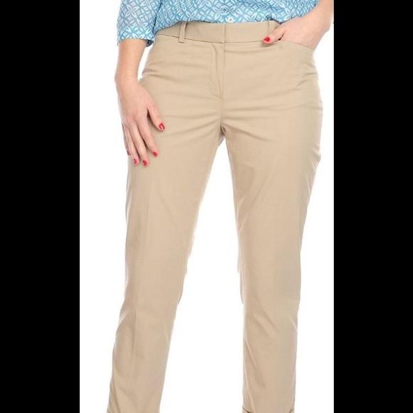 cozy fresh timeless design half price Brooks Brother Natalie fit 346 pants. Khaki. 6
